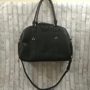 Jeane & Jax Perforated Weekender Bag